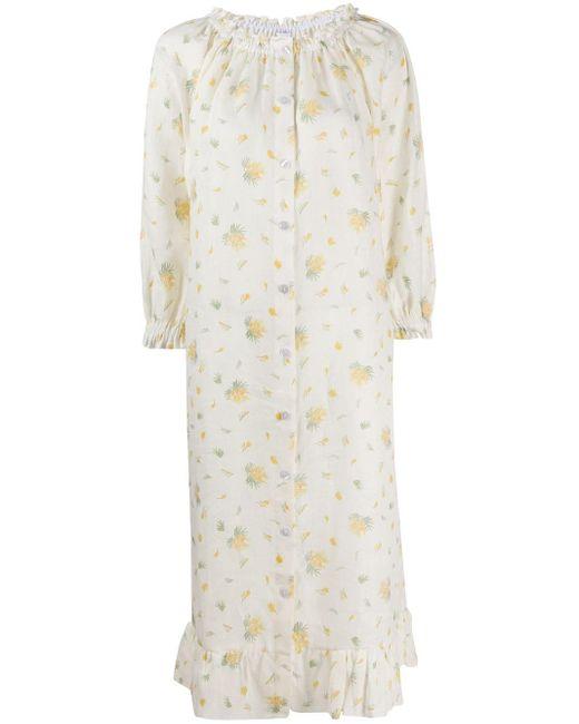 Sleeper フローラル シフトドレス Multicolor
