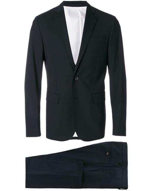 メンズ DSquared² スリムフィット スーツ Black