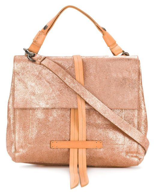 Officine Creative Metallic Seurat Bag