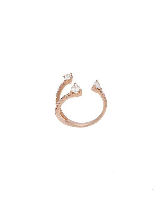 Anita Ko   Metallic Three-claw Ring   Lyst