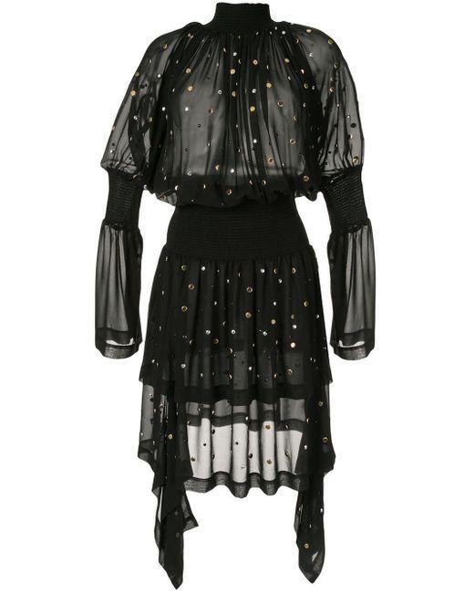Kitx Black Carbon Galaxy Dress