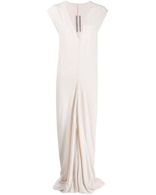 Rick Owens ノースリーブ Vネックドレス Multicolor