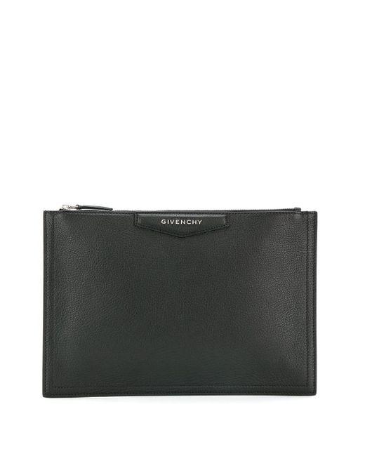Givenchy アンティゴナ クラッチバッグ Black