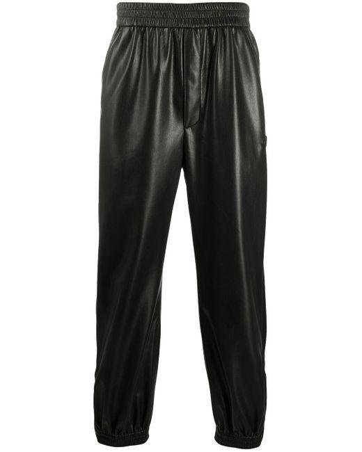 Pantaloni dritti Goro di Nanushka in Black da Uomo
