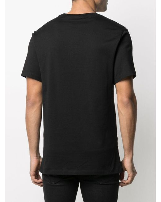 Футболка С Логотипом Roberto Cavalli для него, цвет: Black