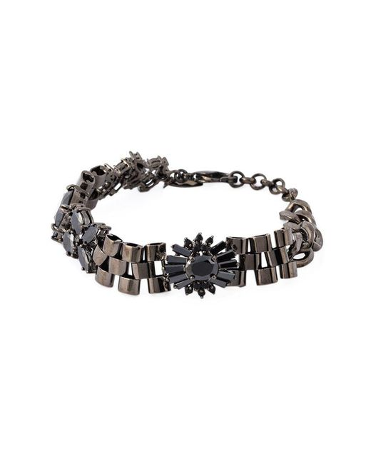 Iosselliani - Metallic 'black On Black Memento' Bracelet - Lyst