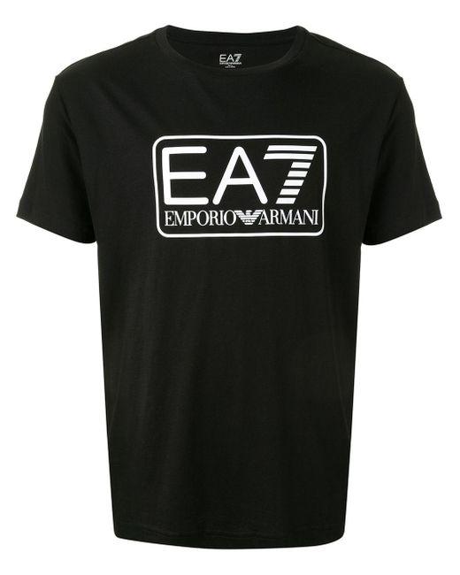 メンズ EA7 Ea7 Tシャツ Black