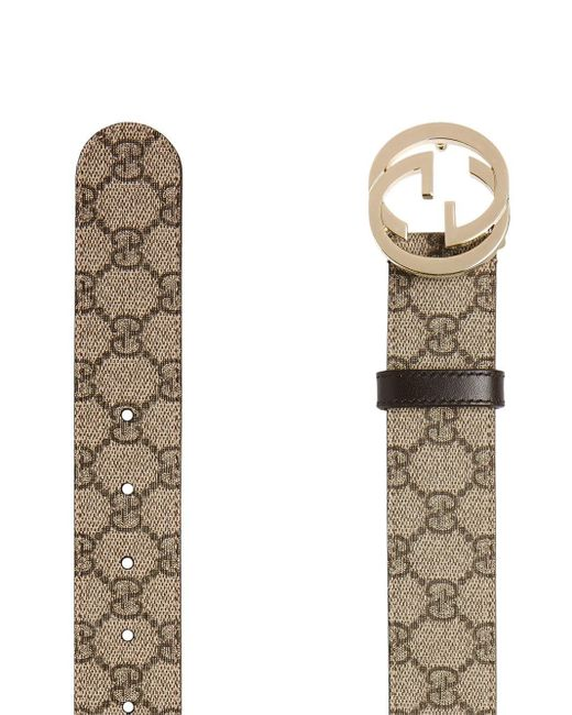 Ремень С Узором GG Supreme Gucci, цвет: Multicolor