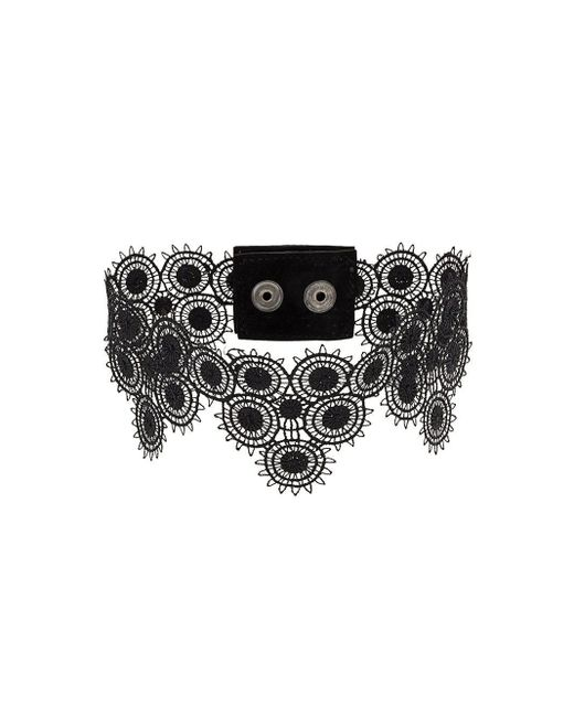 Manokhi チョーカー Black