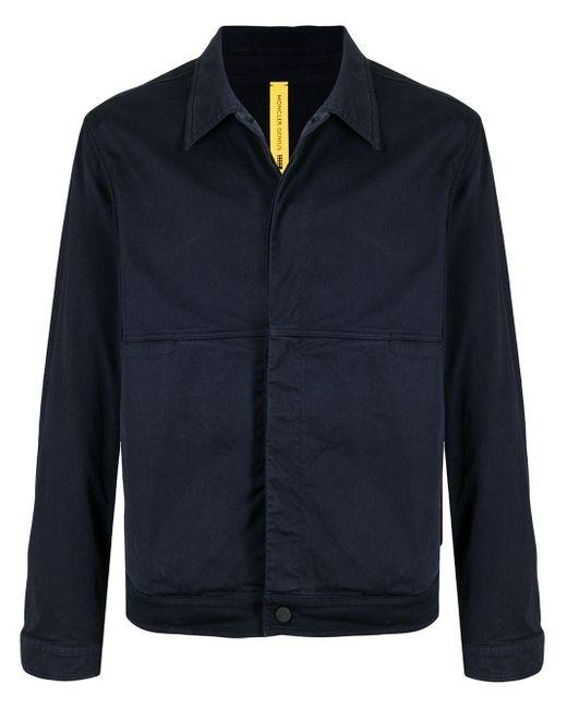 Куртка-рубашка Coleonyx С Графичным Принтом Moncler для него, цвет: Blue