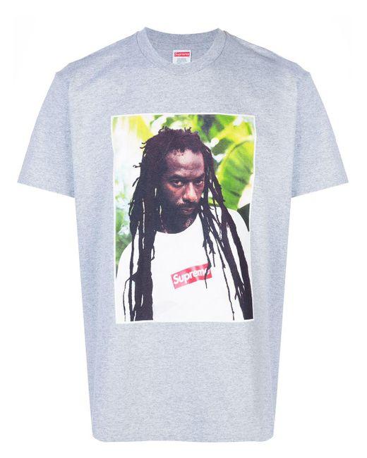 メンズ Supreme Buju Banton Tシャツ Multicolor