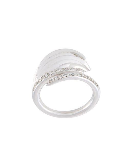 Shaun Leane - Metallic 'white Feather' Diamond Ring - Lyst