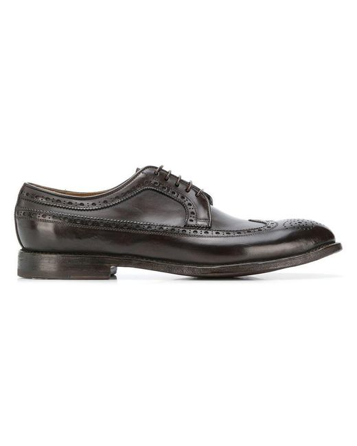 W.gibbs - Brown Classic Oxford Shoes for Men - Lyst