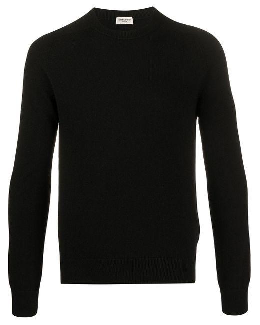 メンズ Saint Laurent カシミア セーター Black