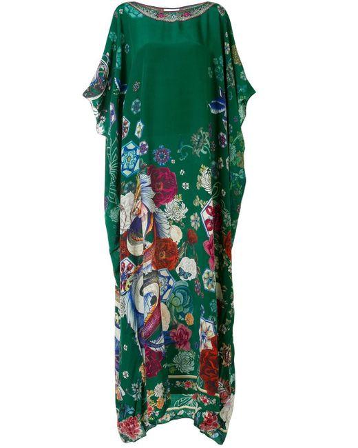Camilla Emeralds Orbit カフタン Green