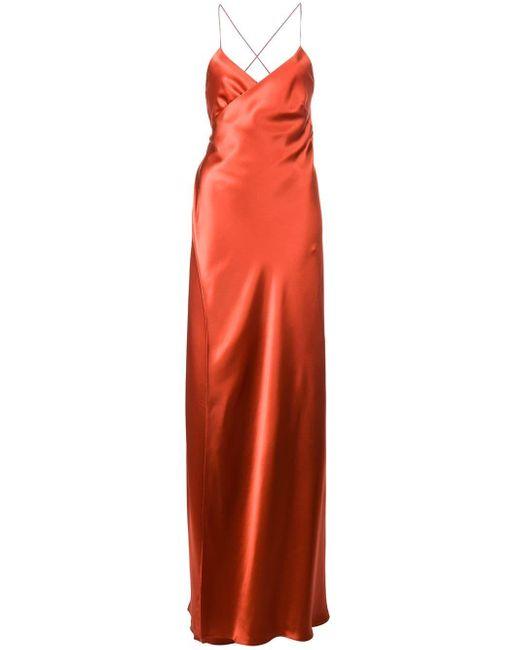 Michelle Mason ラップ ドレス Red