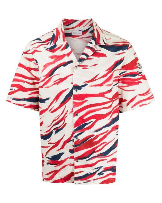 Рубашка С Принтом Surf Moncler для него, цвет: White