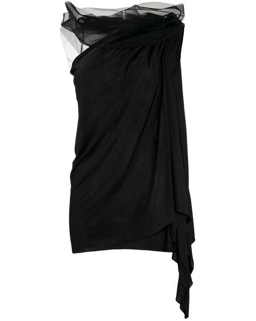 Rick Owens Lilies アシンメトリー タンクトップ Black