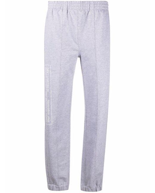 Pantalon de jogging School Helmut Lang en coloris Gray
