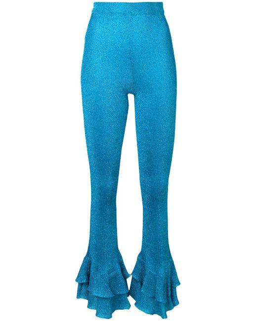 Moschino ラッフル スニーカー Blue