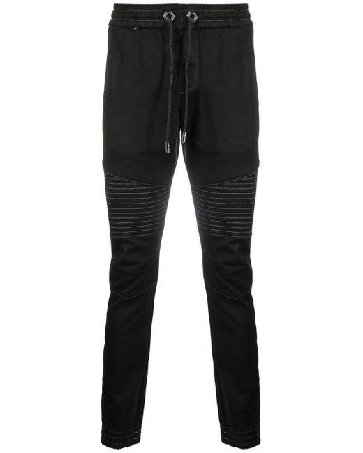 メンズ Philipp Plein ドローストリング パンツ Black