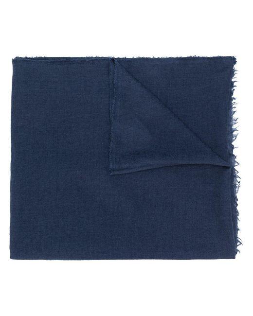 Rick Owens ニット スカーフ Blue
