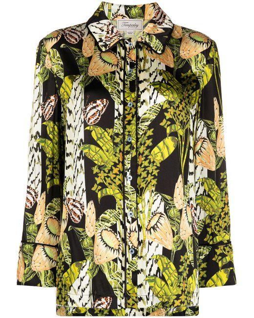 Temperley London Elpis パジャマシャツ Green