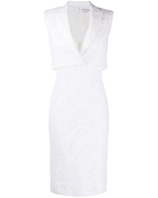 Alexander McQueen レースドレス White