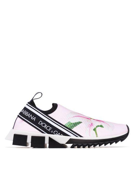 Dolce & Gabbana ソレント スニーカー Pink