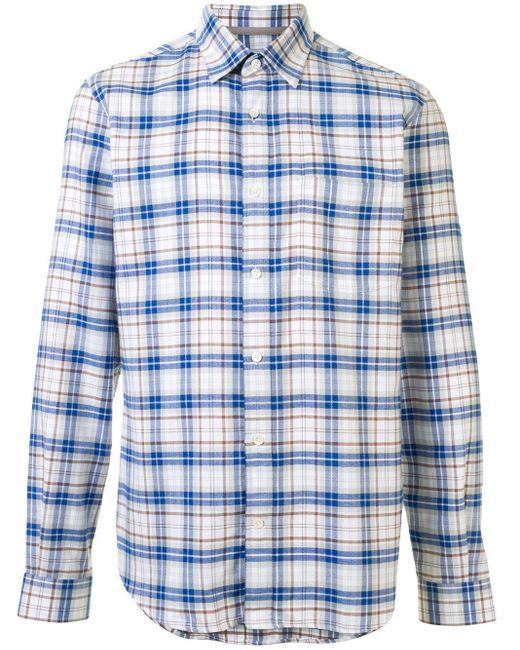 Chemise à carreaux Gieves & Hawkes pour homme en coloris White
