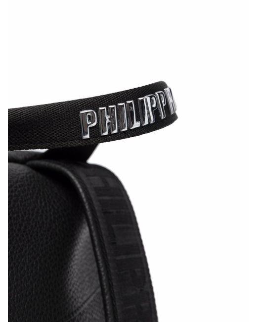 Рюкзак С Монограммой Philipp Plein для него, цвет: Black