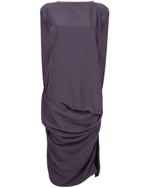 Rick Owens ドレープドレス Purple