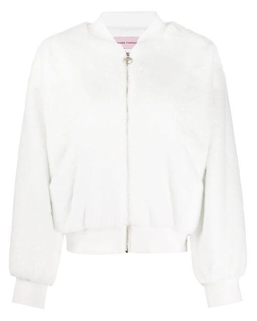 Chiara Ferragni ロゴ ボンバージャケット White
