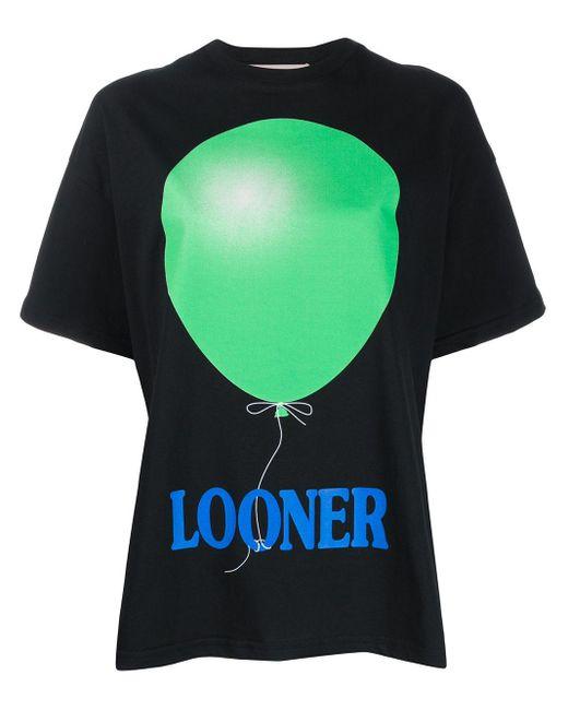 Christopher Kane Camiseta Looner de mujer de color negro lMDNE