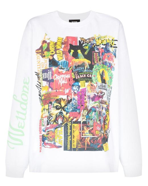 we11done Horror Collage Tシャツ White