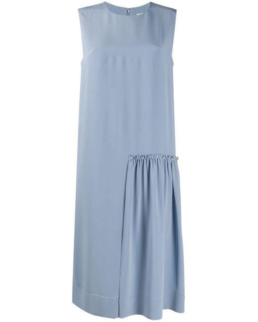 Ferragamo ノースリーブ ドレス Blue