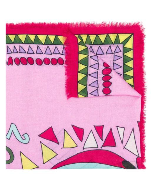 LaDoubleJ Persephone スカーフ Pink