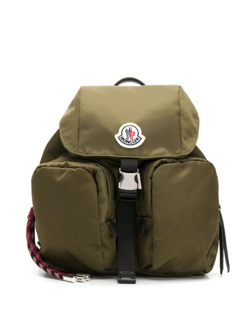 Moncler Dauphine ナイロンバックパック Green