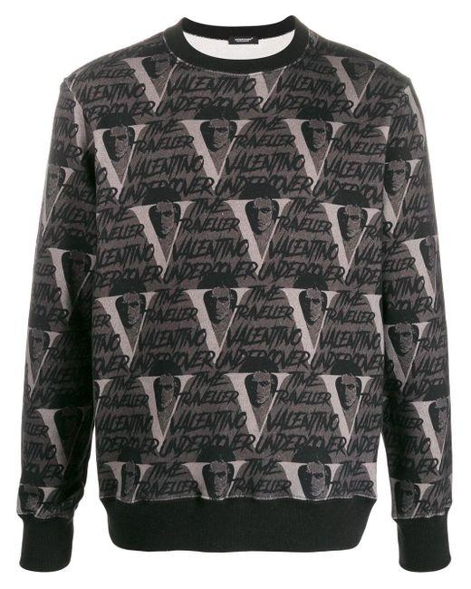 メンズ Undercover X Valentino Vvv スウェットシャツ Gray