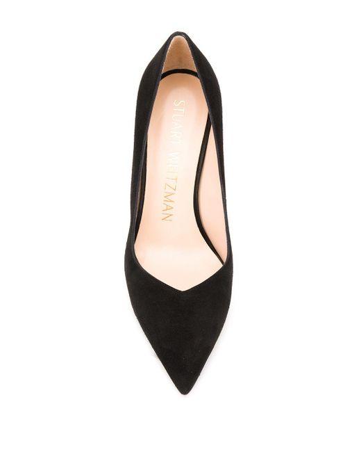 Туфли-лодочки На Высоком Каблуке Stuart Weitzman, цвет: Black