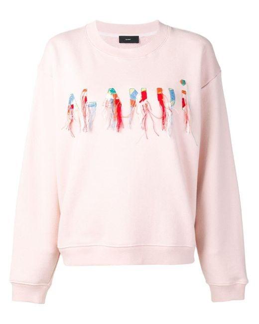 Alanui ロゴ スウェットシャツ Pink
