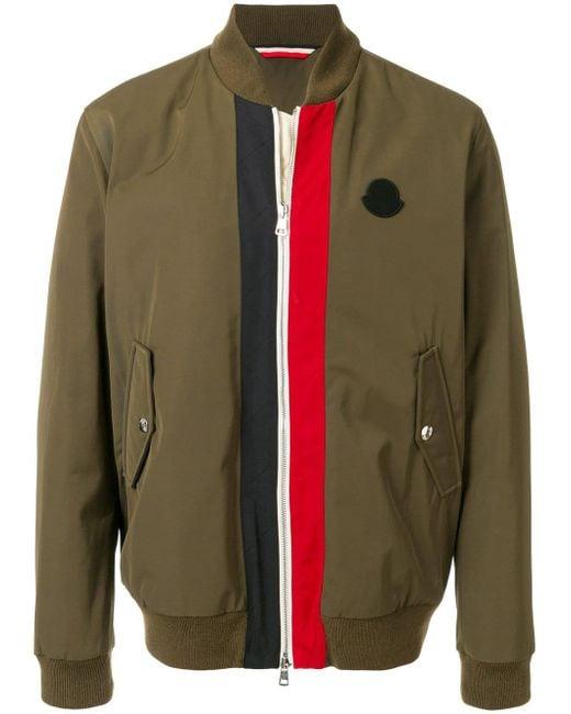 Moncler Green Tacna Giubbotto Bomber Jacket for men