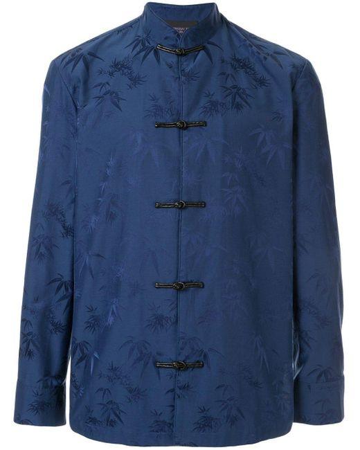Shanghai Tang ジャカード ジャケット Blue