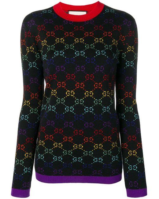 Gucci GGパターン セーター Multicolor