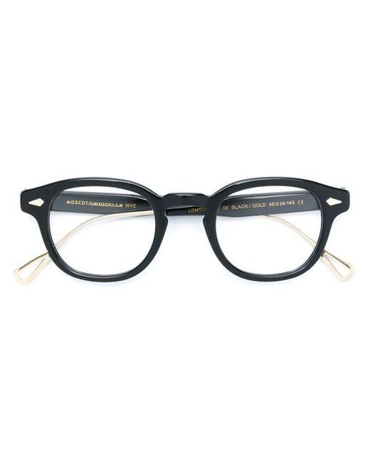 Moscot ラウンド 眼鏡フレーム Black