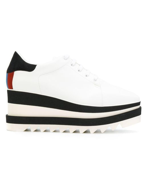 Ботинки На Платформе 'sneak-elyse' Stella McCartney, цвет: White