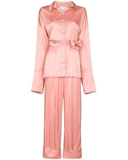 Sleeper サテン パジャマ Pink