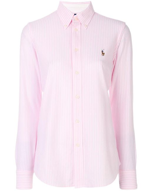 Polo Ralph Lauren ストライプ シャツ Pink