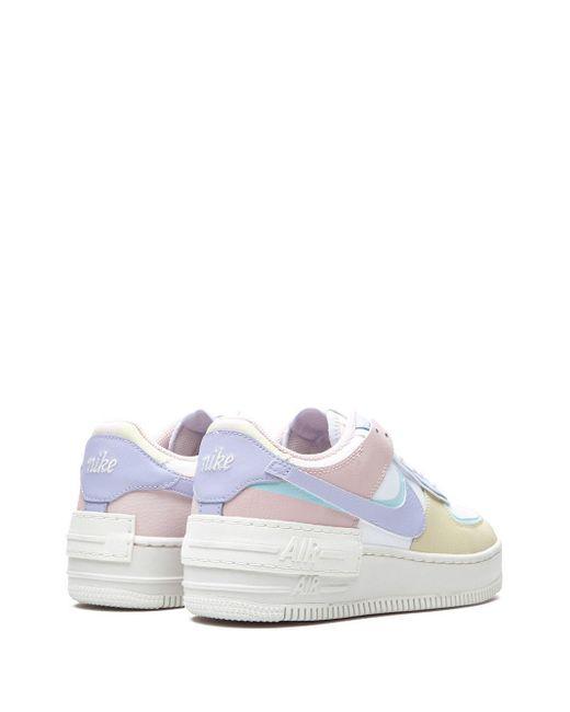 Baskets Air Force 1 Shadow Nike en coloris White