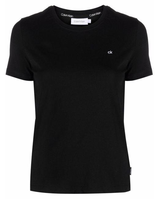 Calvin Klein ロゴ Tシャツ Black